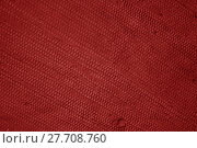 Купить «coarse red cloth», фото № 27708760, снято 16 января 2019 г. (c) PantherMedia / Фотобанк Лори