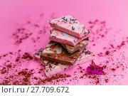 Купить «finest chocolate», фото № 27709672, снято 17 октября 2018 г. (c) PantherMedia / Фотобанк Лори