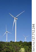 Купить «Wind Turbines in Oklahoma.», фото № 27712244, снято 16 января 2019 г. (c) PantherMedia / Фотобанк Лори