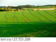 Купить «Beautiful green sping rural landscape», фото № 27721208, снято 27 июня 2019 г. (c) PantherMedia / Фотобанк Лори