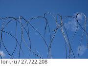 Купить «Barbed wire», фото № 27722208, снято 17 октября 2018 г. (c) PantherMedia / Фотобанк Лори