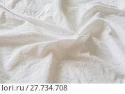 Купить «wrinkled canvas cloth texture background», фото № 27734708, снято 19 августа 2018 г. (c) PantherMedia / Фотобанк Лори