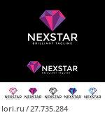 Купить «Next Star Logotype», иллюстрация № 27735284 (c) PantherMedia / Фотобанк Лори