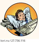 Купить «Dreams of riches business concept», фото № 27736116, снято 18 февраля 2018 г. (c) PantherMedia / Фотобанк Лори