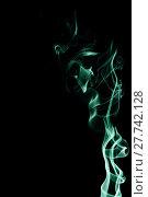 Купить «Capturing the smoke from an incense stick and changing the colours», фото № 27742128, снято 21 октября 2019 г. (c) PantherMedia / Фотобанк Лори