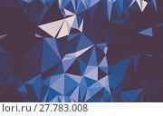 Купить «Abstract low poly background, geometry triangle», фото № 27783008, снято 19 июня 2019 г. (c) PantherMedia / Фотобанк Лори
