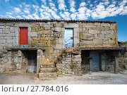Купить «Aged characteristic farmhouse in Galicia», фото № 27784016, снято 17 июля 2018 г. (c) PantherMedia / Фотобанк Лори