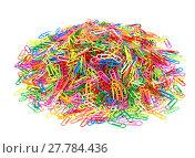 Купить «2000 paperclips exempted», фото № 27784436, снято 19 марта 2019 г. (c) PantherMedia / Фотобанк Лори