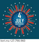 Купить «independence day 4 th july of mechanical scoreboard. happy independence day.», иллюстрация № 27790960 (c) PantherMedia / Фотобанк Лори