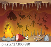 Купить «Prehistoric cave thematic image 1», фото № 27800880, снято 2 января 2019 г. (c) PantherMedia / Фотобанк Лори