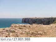 Купить «Coastline and beach in Sagres, Algarve, Portugal», фото № 27801988, снято 18 июня 2019 г. (c) PantherMedia / Фотобанк Лори