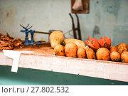 Купить «Shopping marked with fruit», фото № 27802532, снято 26 марта 2019 г. (c) PantherMedia / Фотобанк Лори