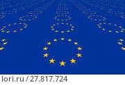Купить «European original flag colors designs», фото № 27817724, снято 25 апреля 2018 г. (c) PantherMedia / Фотобанк Лори