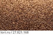 Купить «Granules of instant coffee background», фото № 27821168, снято 29 января 2018 г. (c) Александр Лычагин / Фотобанк Лори