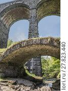 Купить «Yorkshire Dales Dent Head Viaduct», фото № 27823440, снято 16 июля 2019 г. (c) PantherMedia / Фотобанк Лори