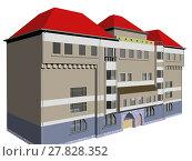 Купить «optional block of flats in big city», фото № 27828352, снято 16 октября 2019 г. (c) PantherMedia / Фотобанк Лори