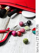 Купить «needlework beading pliers», фото № 27828796, снято 24 января 2019 г. (c) PantherMedia / Фотобанк Лори