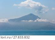 Купить «Tyrrhenian sea landscape, Campania, Italy», фото № 27833832, снято 20 июня 2017 г. (c) Юрий Брыкайло / Фотобанк Лори