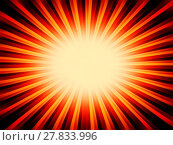 Купить «Radial orange sun rays abstract background», фото № 27833996, снято 19 января 2019 г. (c) PantherMedia / Фотобанк Лори