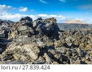 Купить «Stones of volcanic flow give a beautiful  structure», фото № 27839424, снято 23 марта 2019 г. (c) PantherMedia / Фотобанк Лори