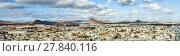 Купить «view to Arrecife and the volcanos of Lanzarote», фото № 27840116, снято 16 декабря 2018 г. (c) PantherMedia / Фотобанк Лори