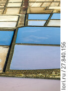 Купить «Salt refinery, Saline from Janubio, Lanzarote, Spain», фото № 27840156, снято 19 февраля 2019 г. (c) PantherMedia / Фотобанк Лори