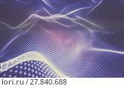 Купить «Abstract polygonal space low poly dark background, 3d rendering», фото № 27840688, снято 18 сентября 2019 г. (c) PantherMedia / Фотобанк Лори