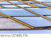 Купить «Salt refinery, Saline from Janubio, Lanzarote», фото № 27845176, снято 17 июня 2019 г. (c) PantherMedia / Фотобанк Лори
