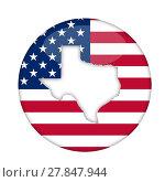 Купить «Texas state of America badge», фото № 27847944, снято 15 февраля 2019 г. (c) PantherMedia / Фотобанк Лори