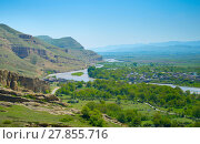 Купить «Georgian country landscape», фото № 27855716, снято 18 августа 2019 г. (c) PantherMedia / Фотобанк Лори