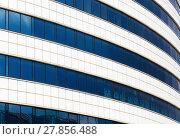 Купить «Facade of modern building», фото № 27856488, снято 18 сентября 2019 г. (c) PantherMedia / Фотобанк Лори