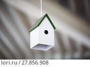 Купить «The chandelier birdhouse», фото № 27856908, снято 20 января 2019 г. (c) PantherMedia / Фотобанк Лори