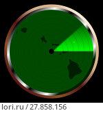 Купить «Radar on Hawaii», иллюстрация № 27858156 (c) PantherMedia / Фотобанк Лори