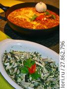 Купить «sardines and tortilla,ready to eat», фото № 27862796, снято 10 июля 2020 г. (c) PantherMedia / Фотобанк Лори
