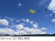 Купить «autumn fall wind fly flying», фото № 27862808, снято 19 октября 2019 г. (c) PantherMedia / Фотобанк Лори