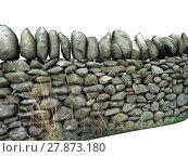 Купить «wall border stonewall delimitation enclosure», фото № 27873180, снято 24 марта 2018 г. (c) PantherMedia / Фотобанк Лори
