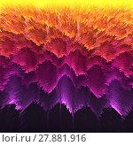 Купить «Orange purple wave background curve line overlap paper layer and gradient colour for design», фото № 27881916, снято 21 июня 2018 г. (c) PantherMedia / Фотобанк Лори