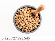 Купить «soya beans», фото № 27893540, снято 21 февраля 2018 г. (c) PantherMedia / Фотобанк Лори