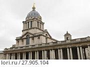 Купить «royal naval college in greenwich in london stadteil», фото № 27905104, снято 21 октября 2018 г. (c) PantherMedia / Фотобанк Лори