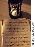 Купить «Music notes», фото № 27908004, снято 14 декабря 2018 г. (c) PantherMedia / Фотобанк Лори