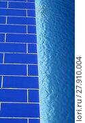 Купить «blue swimming pool», фото № 27910004, снято 20 июня 2019 г. (c) PantherMedia / Фотобанк Лори