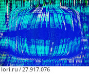 Купить «Computer matrix background», фото № 27917076, снято 25 июня 2019 г. (c) PantherMedia / Фотобанк Лори