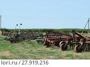 Купить «Trailer Hitch for tractors and combines», фото № 27919216, снято 24 мая 2018 г. (c) PantherMedia / Фотобанк Лори
