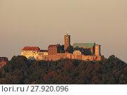 Купить «the wartburg in eisenach in thuringia», фото № 27920096, снято 9 декабря 2018 г. (c) PantherMedia / Фотобанк Лори