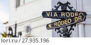 Купить «Rodeo Dr», фото № 27935196, снято 19 июля 2018 г. (c) PantherMedia / Фотобанк Лори