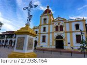 Купить «Church of the Immaculate Conception», фото № 27938164, снято 23 февраля 2018 г. (c) PantherMedia / Фотобанк Лори