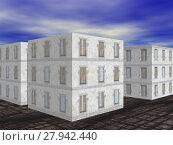 Купить «accommodation skycraper accomodation eigentumswohnungen housing», фото № 27942440, снято 23 марта 2019 г. (c) PantherMedia / Фотобанк Лори