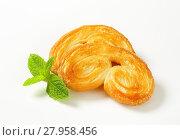 Купить «Palmiers - puff pastry cookies», фото № 27958456, снято 27 июня 2019 г. (c) PantherMedia / Фотобанк Лори