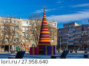 Купить «Christmas tree in Wroclaw, Poland», фото № 27958640, снято 15 ноября 2018 г. (c) PantherMedia / Фотобанк Лори