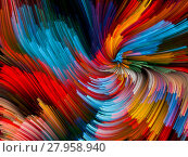 Купить «Color Vortex Backdrop», фото № 27958940, снято 23 мая 2018 г. (c) PantherMedia / Фотобанк Лори